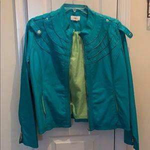 Pastel Leather Jacket